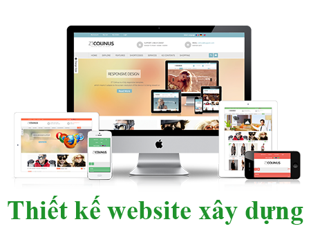 Thiết kế website công ty xây dựng