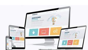 Thiết kế website dạng lưới