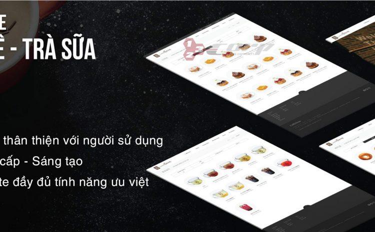 Thiết kế website quán cà phê uy tín chuyên nghiệp