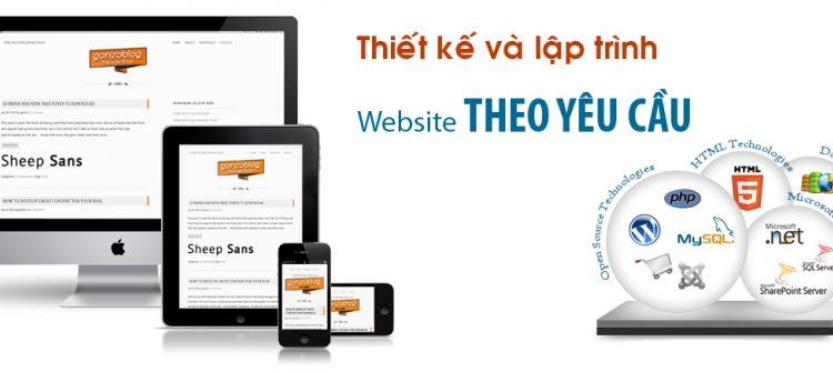 Dịch vụ thiết kế website tại Quận thủ đức