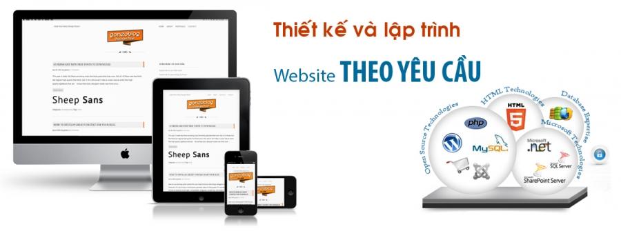 Thiết kế web theo yêu cầu uy tín giá rẻ