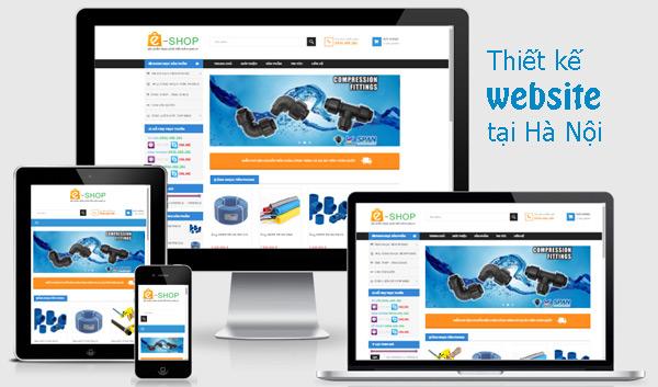 Thiết kế website chuyên nghiệp nhất hà nội