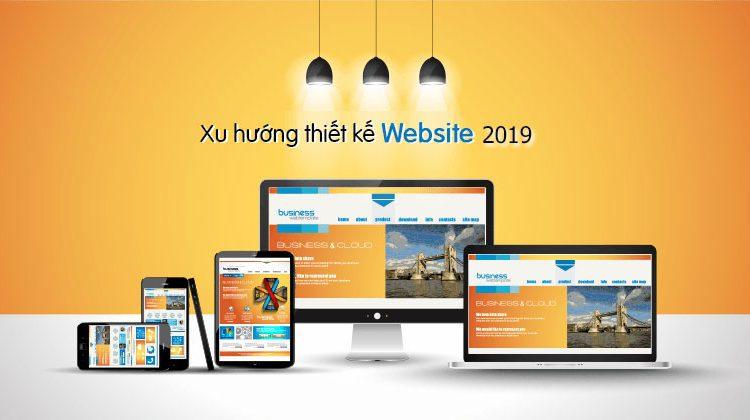 Xu hướng thiết kế web 2019 mới nhất
