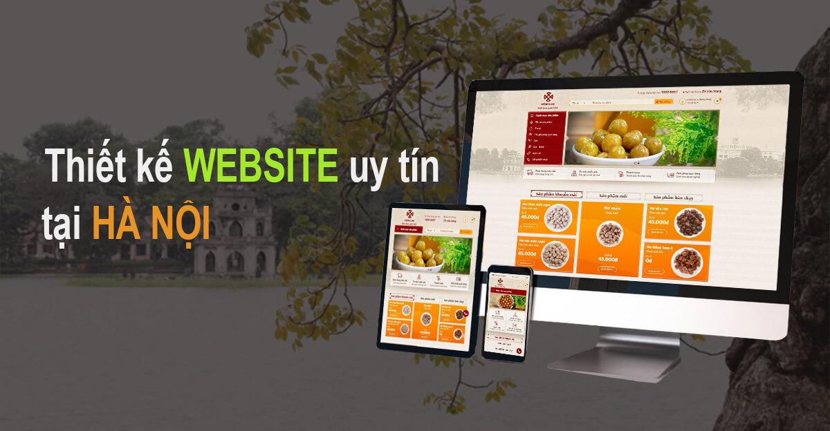 Chuyên thiết kế website tại hà nội