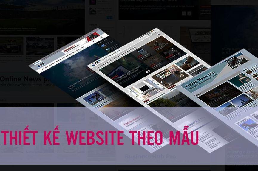 Thiết kế website có sẵn giá rẻ