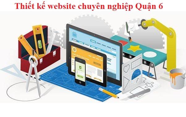 Thiết kế website tại quận 6 trọn gói