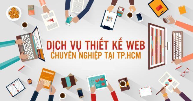 Nhận thiết kế website giá rẻ tại TPHCM