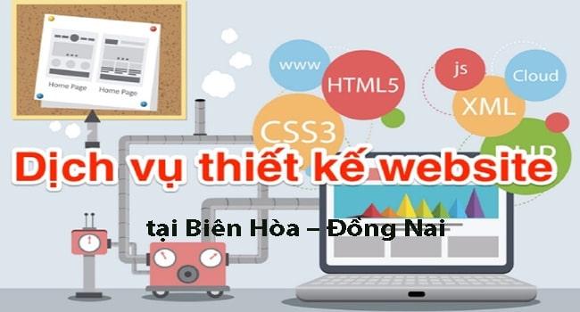 Dịch vụ thiết kế website tại Đồng Nai