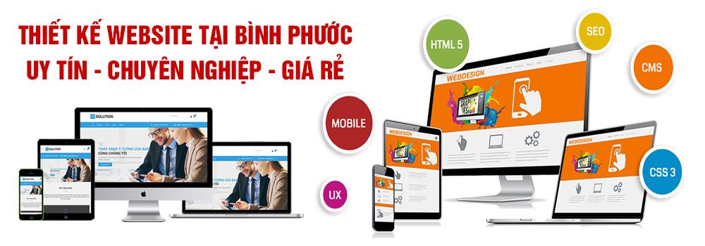 Thiết kế website tại Bình Phước